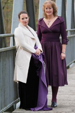 Liederabend Duo: Sopranistin Stephanie M.-L. Bornschlegl mit Liedpianistin Frau Sigrun Schreibmayer
